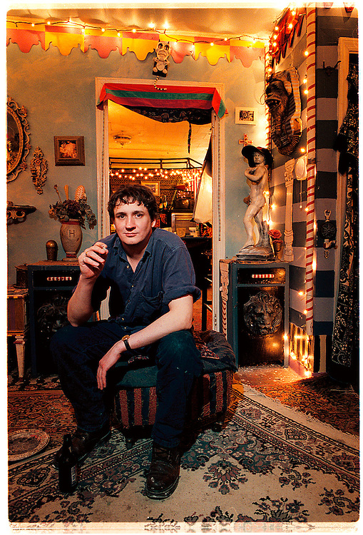 chapel hill musician laird dixon in his lair
