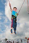 Fun Fair : Enjoyinf the fun fair during Listowel Races was Oisin O'Dubhda, Dingle.