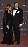 LOS ANGELES, CA - NOVEMBER 04: Actor Mark Hamill (R) and Marilou Hamill attend the 2017 LACMA Art + Film Gala Honoring Mark Bradford and George Lucas presented by Gucci at LACMA on November 4, 2017 in Los Angeles, California.<br /> CAP/ROT/TM<br /> &copy;TM/ROT/Capital Pictures