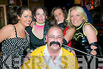 80's Disco: attending the 80's Disco held at The Mermaids Nightclub in Listowel on Friday night last were Joanne Carmody, Phyilis McKenna, Katie Henry, Trish Spink and Pete Spink in front.