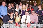 Teachers Night Out - Spa N.S. staff and partners pictured enjoying their Christmas Party held in The Ballyroe Heights Hotel on Friday night. Seated l/r Leona Breen, Mary Crowe, Tom Crowley (Principle) and Aidan Behan, standing l/r Nigel Crowe, Joyce Walsh, Kathleen Crowley, Honor O'Connor, Cormac Foley, Mary Ellen Breen, Valerie Lenihan, Tri?ona Breen, Peter Lenihan and Geraldine Behan..................................................................................................................................................................................................................................................................................... ............