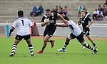 Ben May. Maori All Blacks vs. Fiji. Suva. July 11, 2015. Photo: Marc Weakley