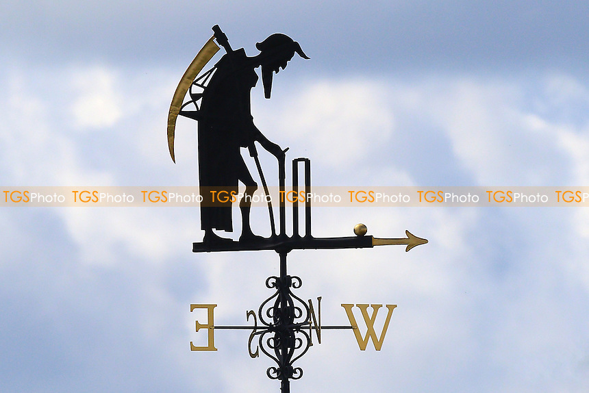The Lord's weather vane, Old Father Time during Middlesex vs Essex Eagles, Royal London One-Day Cup Cricket at Lord's Cricket Ground on 31st July 2016