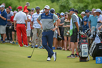 Marc Leishman (AUS) looks over his tee shot on 1 during round 4 of the AT&T Byron Nelson, Trinity Forest Golf Club, at Dallas, Texas, USA. 5/20/2018.<br /> Picture: Golffile | Ken Murray<br /> <br /> All photo usage must carry mandatory copyright credit (© Golffile | Ken Murray)