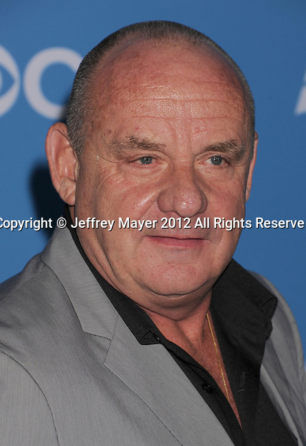 WEST HOLLYWOOD, CA - SEPTEMBER 18: Paul Guilfoyle arrives at the CBS 2012 fall premiere party at Greystone Manor Supperclub on September 18, 2012 in West Hollywood, California.