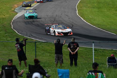 Pirelli World Challenge<br /> Grand Prix of VIR<br /> Virginia International Raceway, Alton, VA USA<br /> Saturday 29 April 2017<br /> Ryan Eversley/ Tom Dyer<br /> World Copyright: Richard Dole/LAT Images<br /> ref: Digital Image RD_PWCVIR_17_183