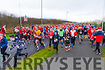 Ready for road at the Fiona Moore Memorial 5k Fun Run in the Tralee Bay Wetlands on Sunday morning,