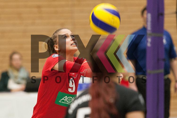 Koepenicks Annika Kummer <br /> <br /> 05.12.2015 Volleyball Frauen 2. Bundesliga Nord Koepenicker SC II Berlin  - USC Muenster II<br /> <br /> Foto &copy; PIX-Sportfotos *** Foto ist honorarpflichtig! *** Auf Anfrage in hoeherer Qualitaet/Aufloesung. Belegexemplar erbeten. Veroeffentlichung ausschliesslich fuer journalistisch-publizistische Zwecke. For editorial use only.