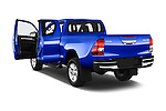 Car images of 2017 Toyota Hilux Comfort 2 Door Pickup Doors