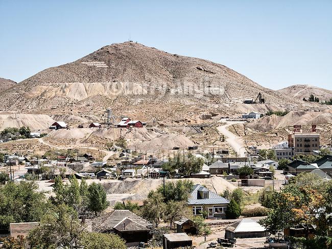 Mt. Mizpah, Tonopah, Nev.
