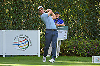 Paul Casey (GBR) watches his tee shot on 12 during round 2 of the World Golf Championships, Mexico, Club De Golf Chapultepec, Mexico City, Mexico. 2/22/2019.<br /> Picture: Golffile | Ken Murray<br /> <br /> <br /> All photo usage must carry mandatory copyright credit (© Golffile | Ken Murray)
