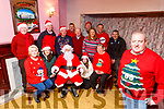 Santa Claus, Stuart Kelly Chairman and the Barradubh Tidy village committee are inviting everyone to the lightening of the Christmas Tree to start the festive season in the village on Friday included are Timmy O'Sullivan, Maria O'Sullivan, Claire Brosnan, Diane Healy, John Joe Murphy, Tim Doherty, Jim Healy Con Murphy, Pat Kelleher, Tommy Finnegan, Maura O'Sullivan, Rebecca O'Sullivan, Tim Healy,