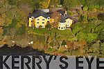 Aerial photos of Carraig Housr, Caragh Lake,  County Kerry.