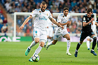 Real Madrid Karim Benzema during La Liga match between Real Madrid and Celta de Vigo at Santiago Bernabeu Stadium in Madrid, Spain. May 12, 2018. (ALTERPHOTOS/Borja B.Hojas) /NORTEPHOTOMEXICO
