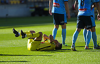 during the A-League football match between Wellington Phoenix and Sydney FC at Sky Stadium in Wellington, New Zealand on Saturday, 21 December 2019. Photo: Dave Lintott / lintottphoto.co.nz