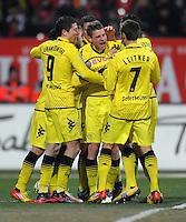 Fussball Bundesliga 2011/12: 1. FC Nuernberg - Borussia Dortmund