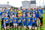 Ladies Football Blitz: The students from Castleisland Community  College who took part in a football blitz at Listowel GAA pitch on Friday last.