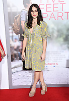 "07 March 2019 - Westwood, California - Cecilia Leal. ""Five Feet Apart"" Los Angeles Premiere held at the Fox Bruin Theatre. Photo Credit: Birdie Thompson/AdMedia"