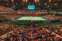 Rotterdam, The Netherlands, 17 Februari 2019, ABNAMRO World Tennis Tournament, Ahoy, Overall View, <br /> Photo: www.tennisimages.com/Henk Koster