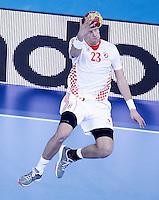 Croatia's Stipe Mandalinic during 23rd Men's Handball World Championship preliminary round match.January 14,2013. (ALTERPHOTOS/Acero) 7NortePhoto