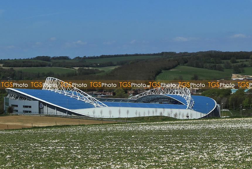 Brighton & Hove Albions AMEX Arena - Brighton & Hove Albion - NPower Championship - 06/05/13 - MANDATORY CREDIT: Simon Roe/TGSPHOTO - Self billing applies where appropriate - 0845 094 6026 - contact@tgsphoto.co.uk - NO UNPAID USE.