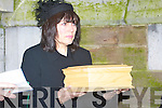 The small coffin which carried the late Christy Hennessy's Ashes to Rath Cemetery on Thursday 27th December.The Removal Mass of the late Christy Hennessy from Saint Johns Tralee on Thursday 27th December,    Copyright Kerry's Eye 2008