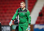 Dunfermline v St Johnstone..24.12.11   SPL .Not a good day for Pars keeper Chris Smith .Picture by Graeme Hart..Copyright Perthshire Picture Agency.Tel: 01738 623350  Mobile: 07990 594431