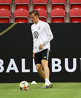 Lukas Klostermann (Deutschland Germany) - 10.06.2019: Abschlusstraining der Deutschen Nationalmannschaft vor dem EM-Qualifikationsspiel gegen Estland, Opel Arena Mainz