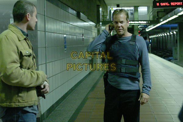 "KEIFER SUTHERLAND & JAMES BADGE DALE.in 24.""11:00am-12:00pm"".*Editorial Use Only*.www.capitalpictures.com.sales@capitalpictures.com.Supplied by Capital Pictures."