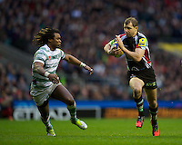 Nick Evans of Harlequins in action during the Aviva Premiership match between Harlequins and London Irish at Twickenham on Saturday 29th December 2012 (Photo by Rob Munro).