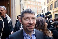 Roma  23 Aprile 2013.Si riunusce  la direzione nazionale del Partito Democratico. Ivan Scalfarotto