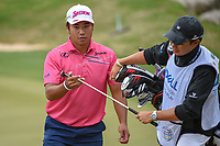 Hideki Matsuyama (JPN) heads for the tee on 3 during day 3 of the WGC Dell Match Play, at the Austin Country Club, Austin, Texas, USA. 3/29/2019.<br /> Picture: Golffile | Ken Murray<br /> <br /> <br /> All photo usage must carry mandatory copyright credit (© Golffile | Ken Murray)