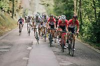 Jens Debusschere (BEL/Lotto-Soudal) pacing<br /> <br /> 59th Grand Prix de Wallonie 2018 <br /> 1 Day Race from Blegny to Citadelle de Namur (BEL / 206km)