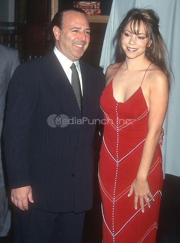Tommy Mottola Mariah Carey 1996<br /> Photo By John Barrett/PHOTOlink.net /MediaPunch