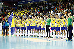 Bosnia Herzegovina's team photo during 2018 Men's European Championship Qualification 2 match. November 2,2016. (ALTERPHOTOS/Acero)