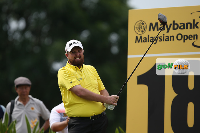 Shane Lowry (IRL) carded a birdie-free 80 during Round One of the 2014 Maybank Malaysian Open at the Kuala Lumpur Golf & Country Club, Kuala Lumpur, Malaysia. Picture:  David Lloyd / www.golffile.ie
