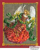 Ingrid, HOLY FAMILIES, HEILIGE FAMILIE, SAGRADA FAMÍLIA, paintings+++++,USISGAI08C,#XR# angels ,vintage