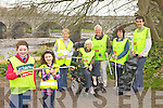 TIDY UP: Gearing up for this year's Tidy Towns campaign in Listowel, l-r: Clodagh O'Sullivan, Claire Moloney, Julie Gleeson, Cllr Jackie Barrett, Kieran Moloney, Margaret O'Sullivan, Cllr Jimmy Moloney.