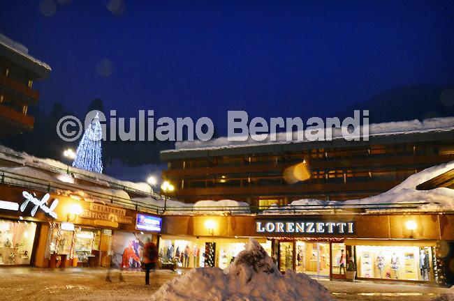 Madonna di Campiglio by night<br /> Trentino