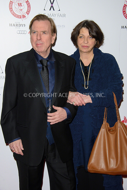 WWW.ACEPIXS.COM<br /> <br /> January 18 2015, London England<br /> <br /> Timothy Spall arriving at The London Critics' Circle Film Awards at The Mayfair Hotel on January 18, 2015 in London, England.<br /> <br /> <br /> Please byline: Famous/ACE Pictures<br /> <br /> ACE Pictures, Inc.<br /> www.acepixs.com, Email: info@acepixs.com<br /> Tel: 646 769 0430