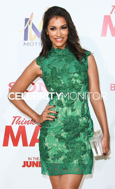 HOLLYWOOD, LOS ANGELES, CA, USA - JUNE 09: Janina Gavankar at the Los Angeles Premiere Of Screen Gems' 'Think Like A Man Too' held at the TCL Chinese Theatre on June 9, 2014 in Hollywood, Los Angeles, California, United States. (Photo by David Acosta/Celebrity Monitor)