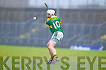 Dara O'Connell Kerry Hurlers  Cork Institute Technology in the Waterford Crystal Cup at Austin Stack Park, Tralee on Saturday 15th January.