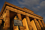 Brandenburger Tor. The famous gate went from symbol of division to symbol of a reunited Germany.