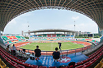General view of Jiangning Sports Center ahead of Korea Republic vs DPR Korea during the AFC U-19 Women's Championship China group B match at the Jiangning Sports Center on 23 August 2015 in Nanjing, China. Photo by Xaume Olleros / Power Sport Images