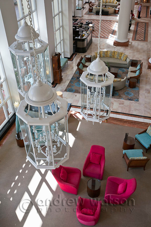 Foyer of the Sebel Hotel.  Cairns, Queensland, Australia
