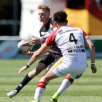 Broncos No7 action during the U19's game between London Broncos and Catalans at Ealing Trailfinders, Ealing, on Sun May 1, 2016