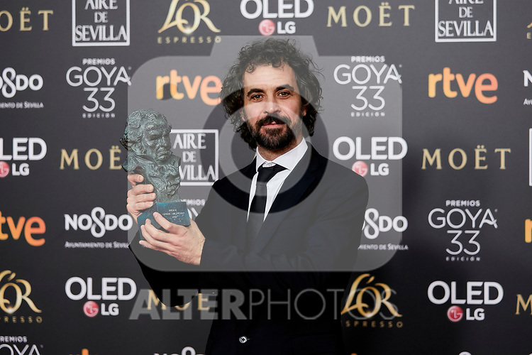 {persons} attends to 33rd Goya Awards at Fibes - Conference and Exhibition  in Seville, Spain. February 02, 2019. (ALTERPHOTOS/A. Perez Meca)