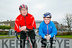 At the St. Brendan's N.S. FENIT Coastal Cycle fundraiser for St Brendan's N.S were John and Eoin Bluckley