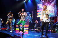 HOLLYWOOD FL - JULY 1 : (L-R) Verdine White,  Philip Bailey and Ralph Johnson of Earth Wind and Fire perform at Hard Rock Live held at the Seminole Hard Rock Hotel &amp; Casino on July 1, 2012 in Hollywood, Florida. &copy;&nbsp;mpi04/MediaPunch Inc /*NORTEPHOTO.COM*<br />
