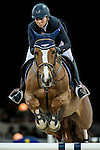 Jane Richard Philips of Switzerland riding Zekina Z in action during the Gucci Gold Cup as part of the Longines Hong Kong Masters on 14 February 2015, at the Asia World Expo, outskirts Hong Kong, China. Photo by Johanna Frank / Power Sport Images